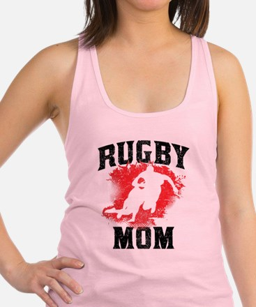 Rugby Mom Racerback Tank Top
