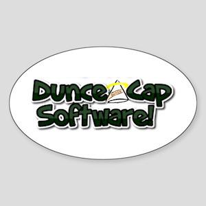 Dunce Cap Software Logo Sticker