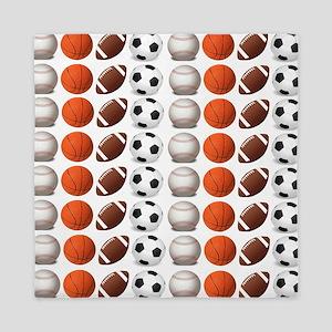 Sports Balls Queen Duvet