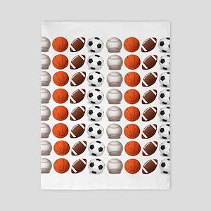 Sports Balls Twin Duvet