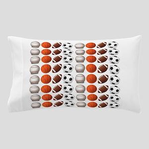 Sports Balls Pillow Case