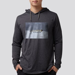 "Lazy Beach Bum Seal: ""Ah, the Long Sleeve T-Shirt"