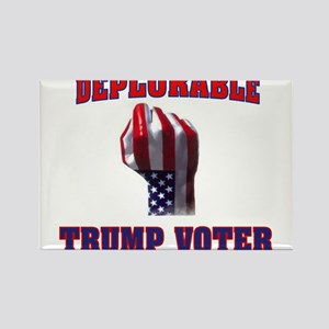 DEPLORABLE TRUMP VOTER Magnets