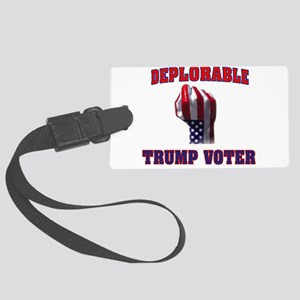 DEPLORABLE TRUMP VOTER Luggage Tag