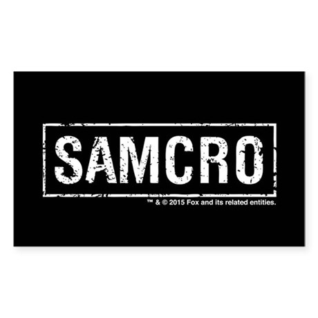 Samcro sticker rectangle