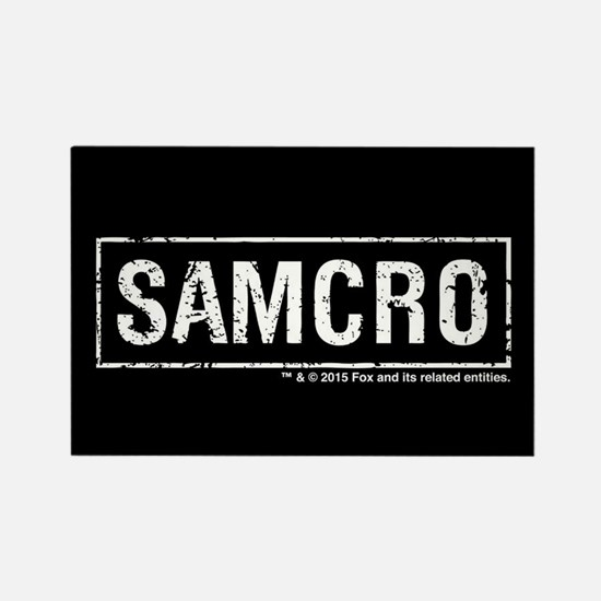 SAMCRO Rectangle Magnet