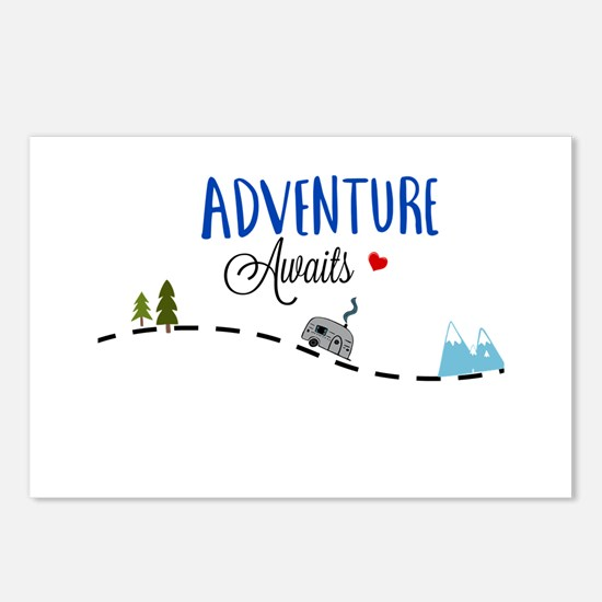 Adventure Awaits Postcards (Package of 8)
