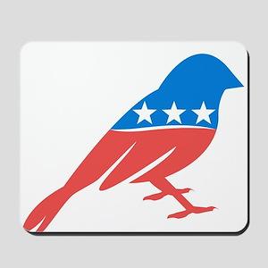 Progressive Sparrow Mousepad
