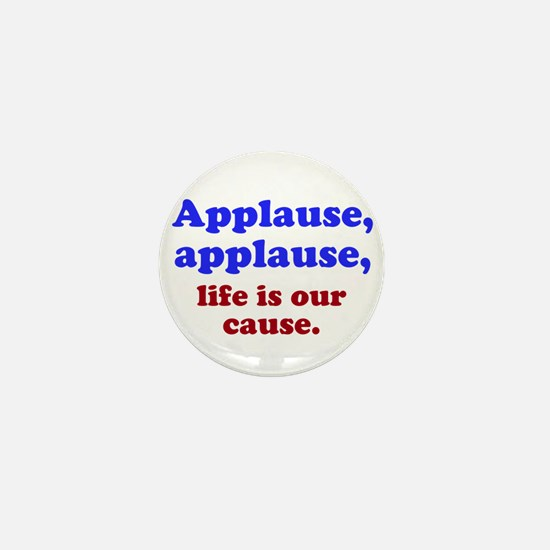 Applause Mini Button