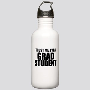 Trust Me, I'm A Grad Student Water Bottle