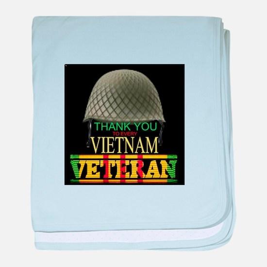 Thank A Viet Vet baby blanket
