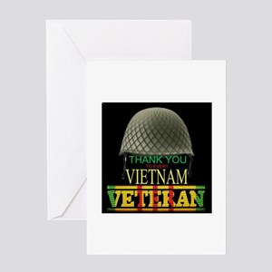 Thank A Viet Vet Greeting Cards