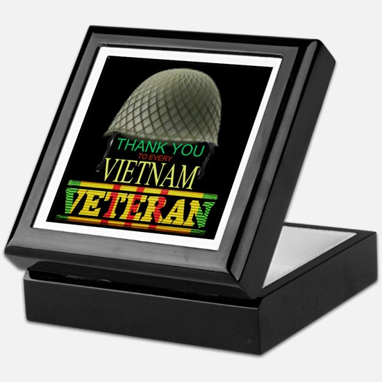 Thank A Viet Vet Keepsake Box