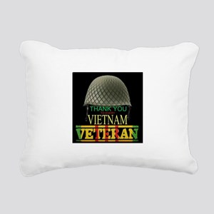 Thank A Viet Vet Rectangular Canvas Pillow
