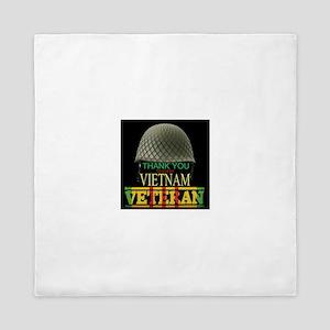 Thank A Viet Vet Queen Duvet