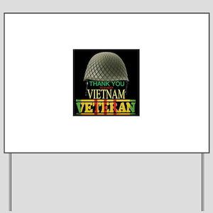 Thank A Viet Vet Yard Sign