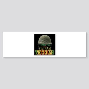 Thank A Viet Vet Bumper Sticker