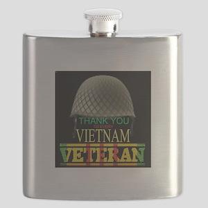 Thank A Viet Vet Flask