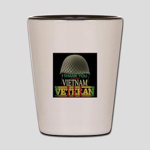 Thank A Viet Vet Shot Glass