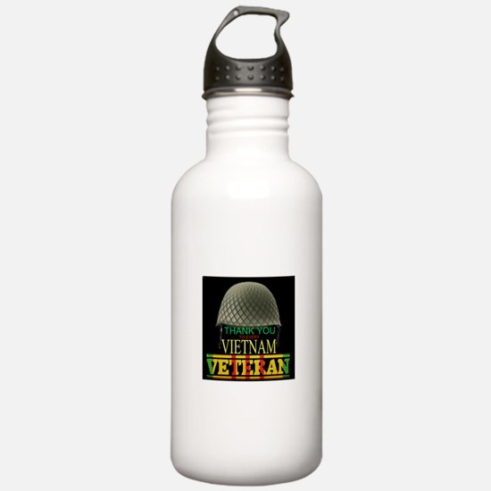 Thank A Viet Vet Water Bottle