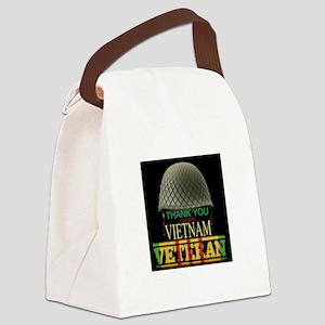 Thank A Viet Vet Canvas Lunch Bag