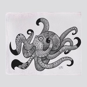 Octopus Plus One Throw Blanket