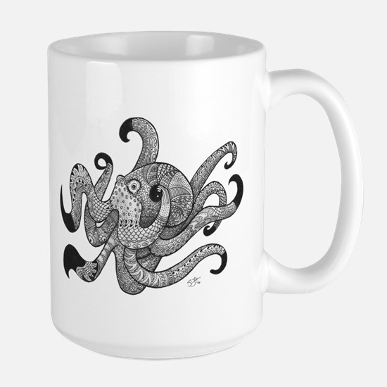 Octopus Plus One Mugs