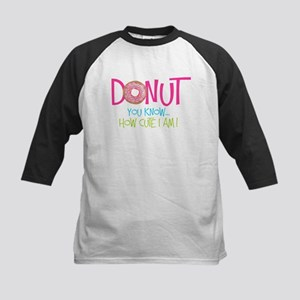 Donut you know... Baseball Jersey