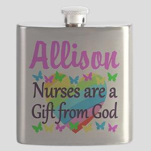 BLESSED NURSE Flask