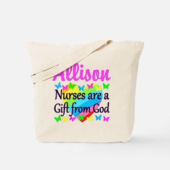 BLESSED NURSE Tote Bag