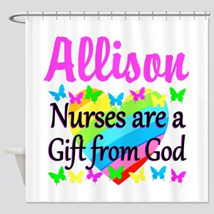 BLESSED NURSE Shower Curtain