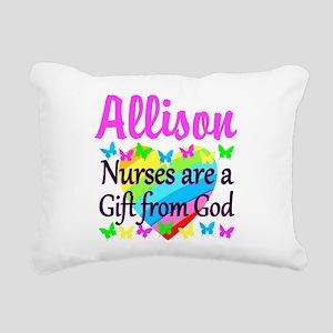 BLESSED NURSE Rectangular Canvas Pillow