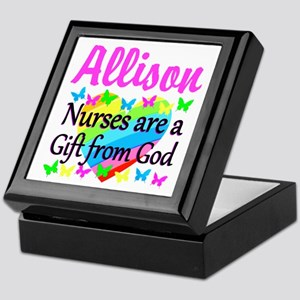 BLESSED NURSE Keepsake Box