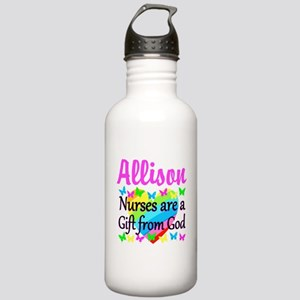 BLESSED NURSE Stainless Water Bottle 1.0L