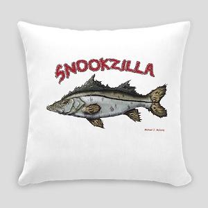 Snookzilla Everyday Pillow