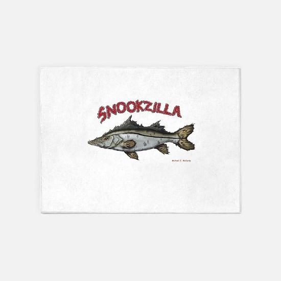 Snookzilla 5'x7'Area Rug