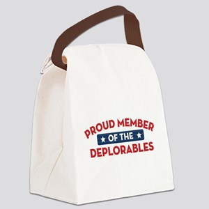 Proud Member of the Deplorables Canvas Lunch Bag