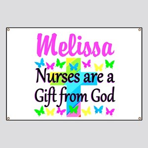 BLESSED NURSE Banner