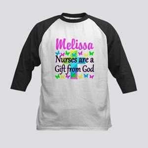 BLESSED NURSE Kids Baseball Jersey