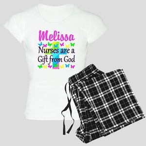 BLESSED NURSE Women's Light Pajamas