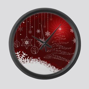 Decorative Christmas Ornamental S Large Wall Clock