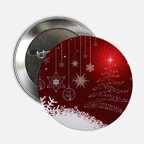 "Decorative Christmas Orname 2.25"" Button (10 pack)"