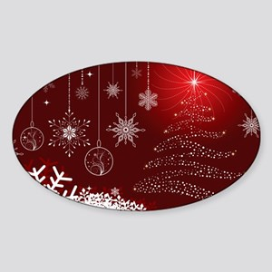 Decorative Christmas Ornamental Snowflakes Sticker