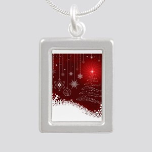 Decorative Christmas Ornamental Snowflak Necklaces