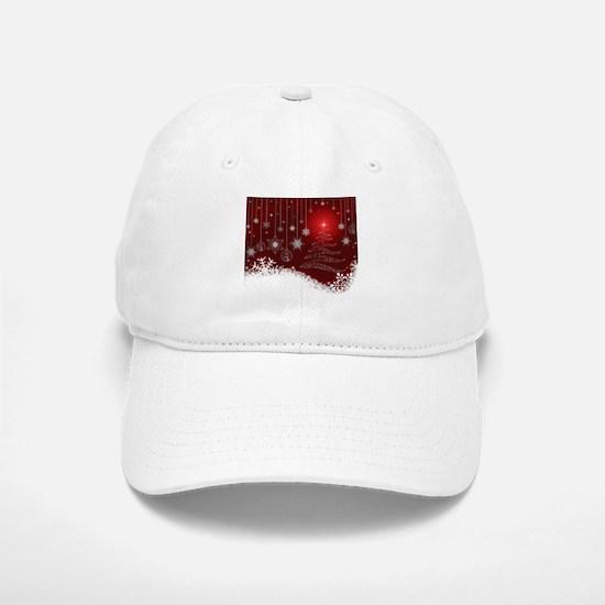 Decorative Christmas Ornamental Snowflakes Baseball Baseball Cap