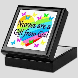 PRAY FOR NURSES Keepsake Box