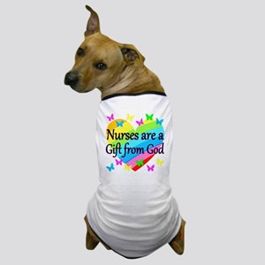 PRAY FOR NURSES Dog T-Shirt
