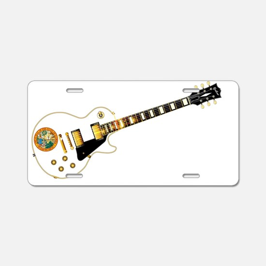 Cool Gibson Aluminum License Plate