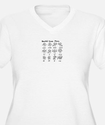 Beautiful (math) dance moves Plus Size T-Shirt