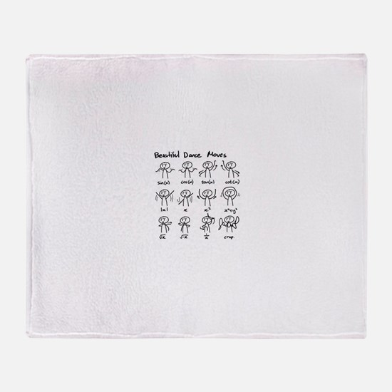 Cute We have all the fossils Throw Blanket